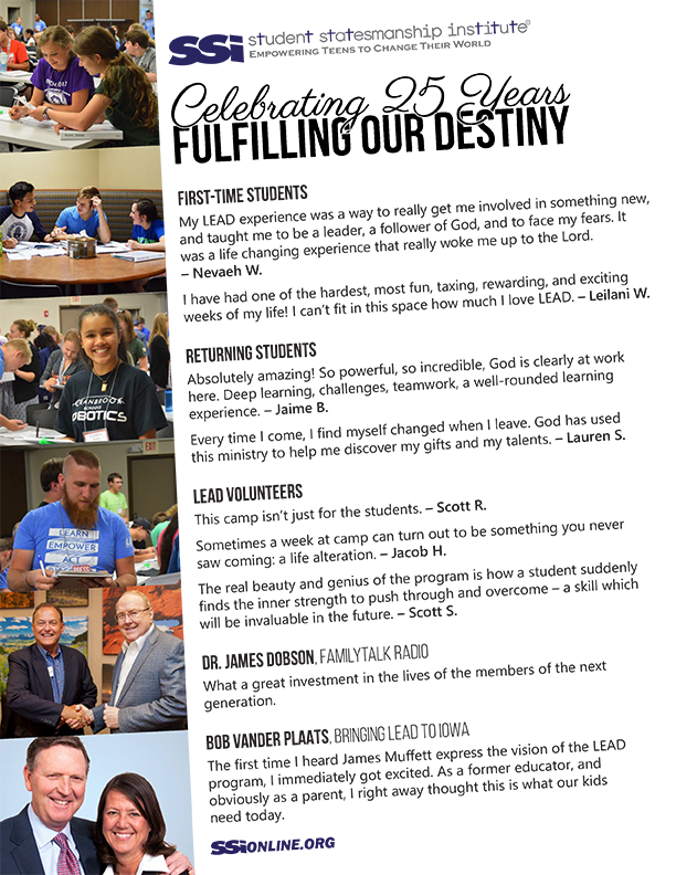 SSI Testimony Sheet