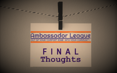 My 2018-2019 Ambassador League Experience Report: A Yearlong Journey of Learning and Growing