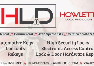 Howlett Lock and Door