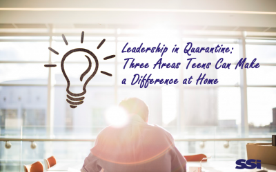 Leadership in Quarantine: Three Areas Teens Can Make a Difference at Home